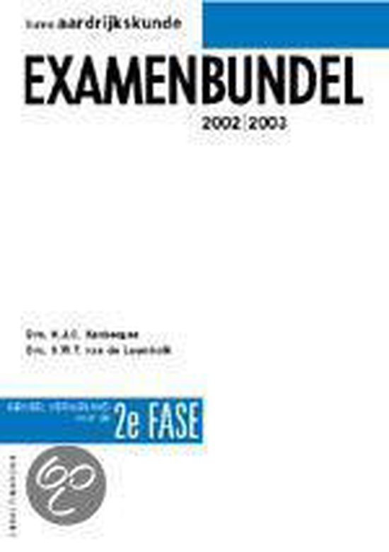 Havo Aardrijkskunde Examenbundel 2E Fase