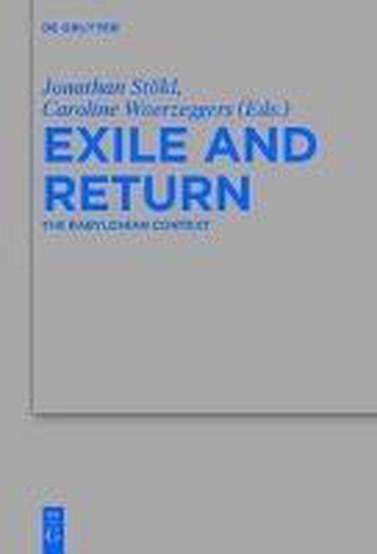 Boek cover Exile and Return van  (Hardcover)