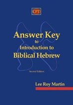 Omslag Answer Key to Introduction to Biblical Hebrew