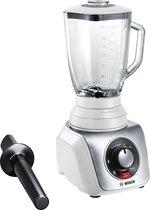 Bosch MMB66G5M SilentMixx Pro - Blender - Wit RVS
