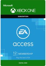 EA Access - 12 Maanden Abonnement - Xbox One