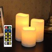 Uitgelezene bol.com | LED kaarsen 3 stuks | vlamloze en veilige LED waxine SJ-64