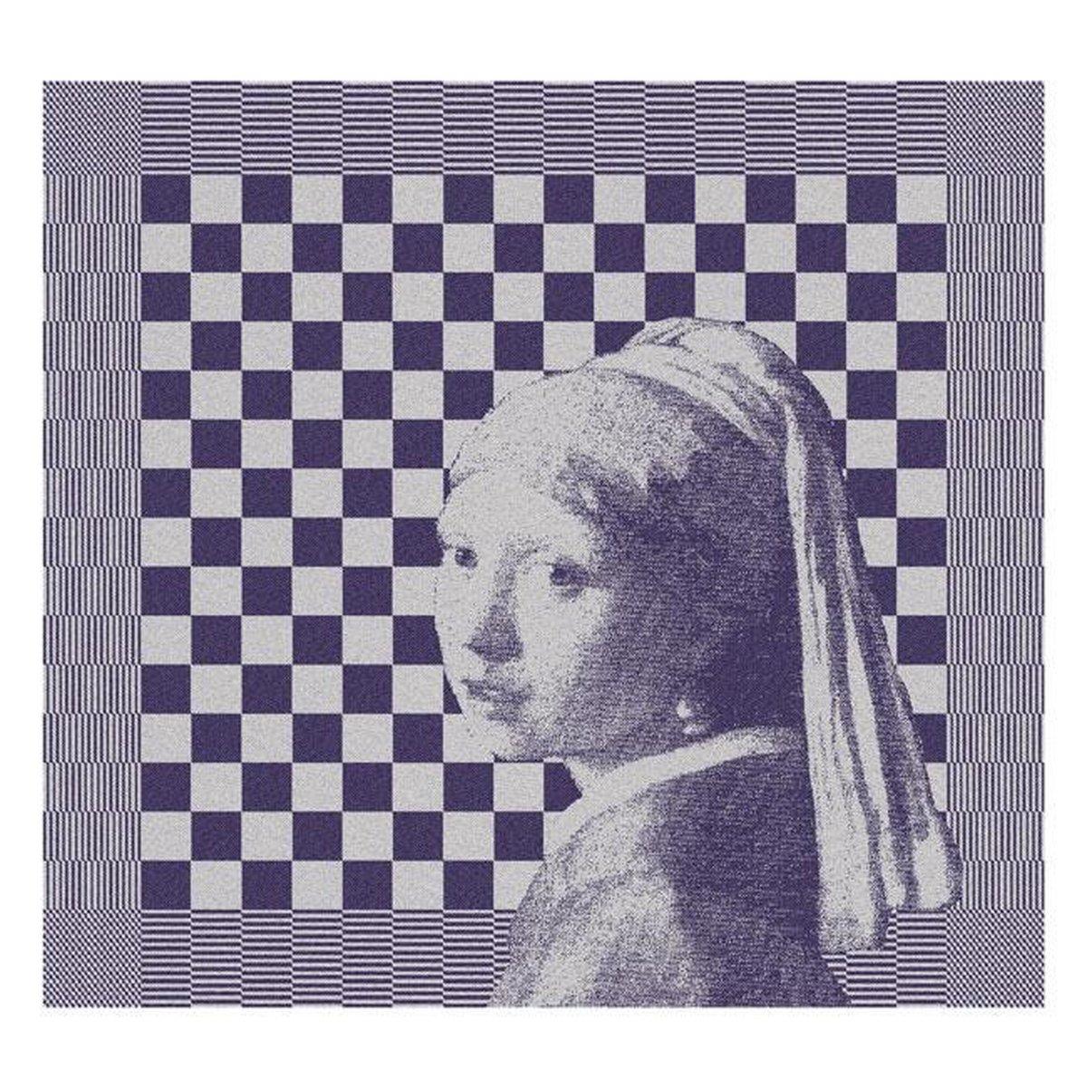 DDDDD Theedoek Girl With the Pearl (6 stuks) - DDDDD
