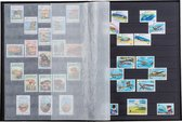 Postzegelinsteekalbum met 64 zwarte bladzijden - Basic S 64 groen