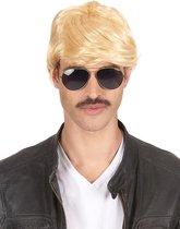 STYLER - Korte blonde pruik voor heren - Pruiken