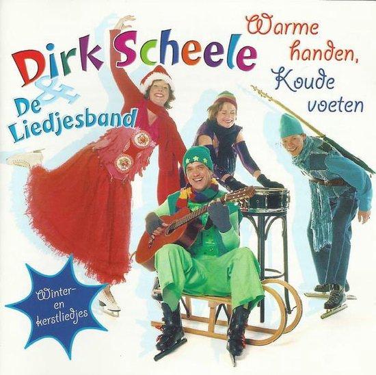 CD cover van Warme Handen, Koude Voeten van Dirk & De Liedjesband Scheele