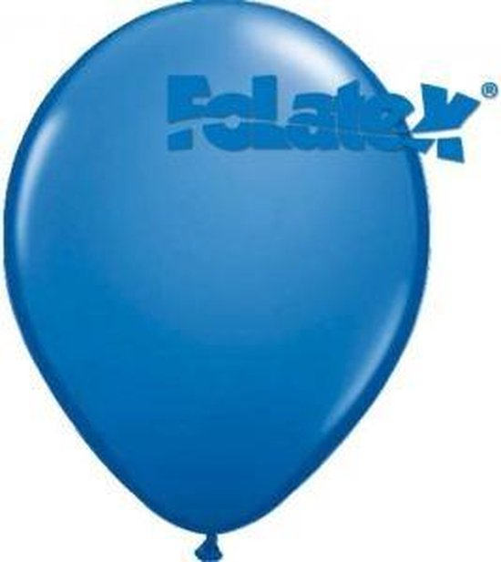 Ballonnen Blauw 30 cm 25 stuks