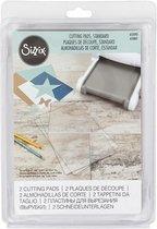 Snijplaten voor Sizzix, afm 20,5x15,5 cm, 2stuks