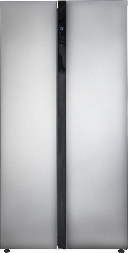 Koelkast: Inventum SKV0178R  - Amerikaanse koelkast - RVS, van het merk Inventum