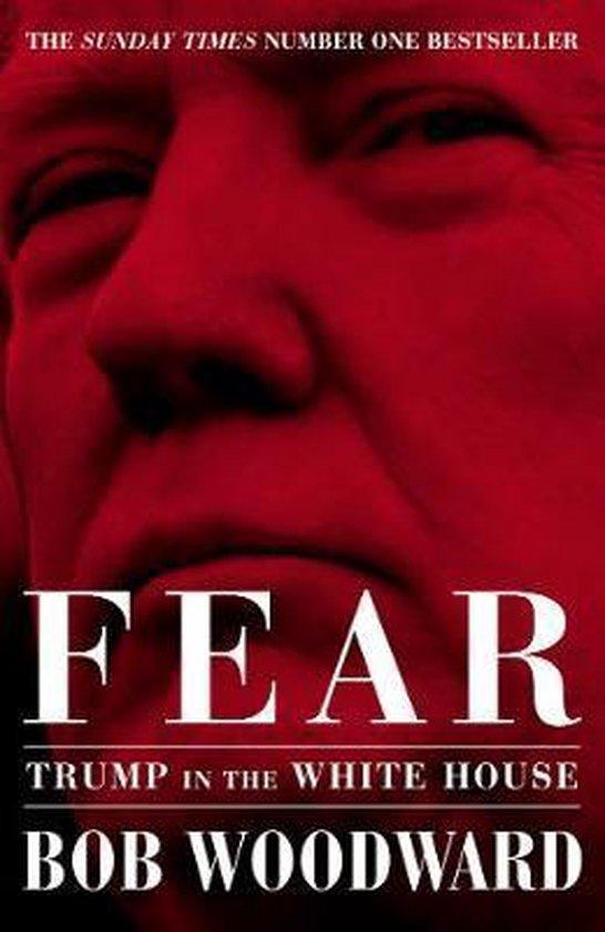 Boek cover Fear van Bob Woodward (Hardcover)