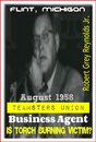August 1958 Teamsters Union Business Agent Is Burning Torch Victim?