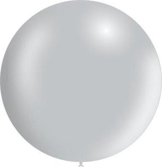 Zilveren Reuze Ballon Metallic 60cm
