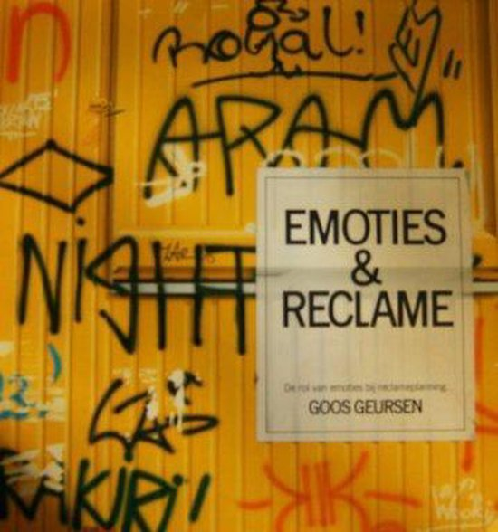 EMOTIES EN RECLAME - Goos Geursen pdf epub