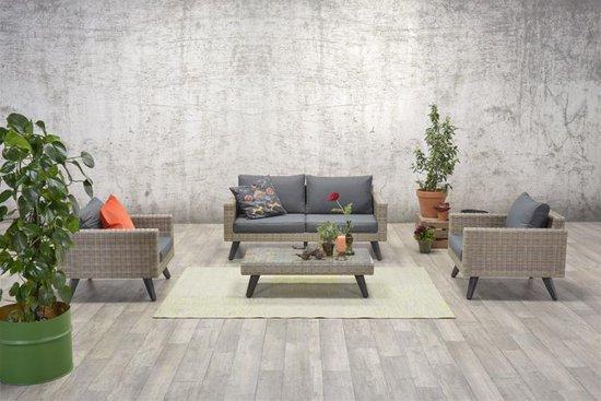 Garden Impressions - Cotes loungeset - havanna sand - Garden Impressions