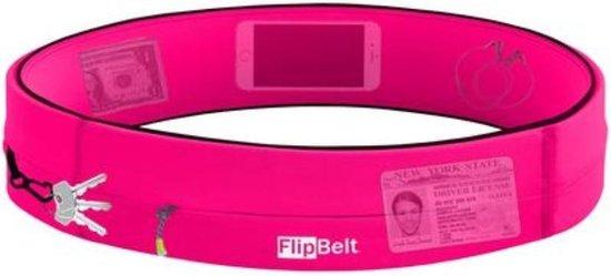 Flipbelt Rits Roze - Running belt - Hardloopriem - S