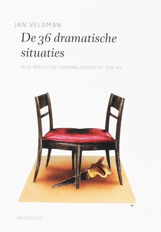 Boek cover De schrijfbibliotheek  -   De 36 dramatische situaties van Jan Veldman (Paperback)