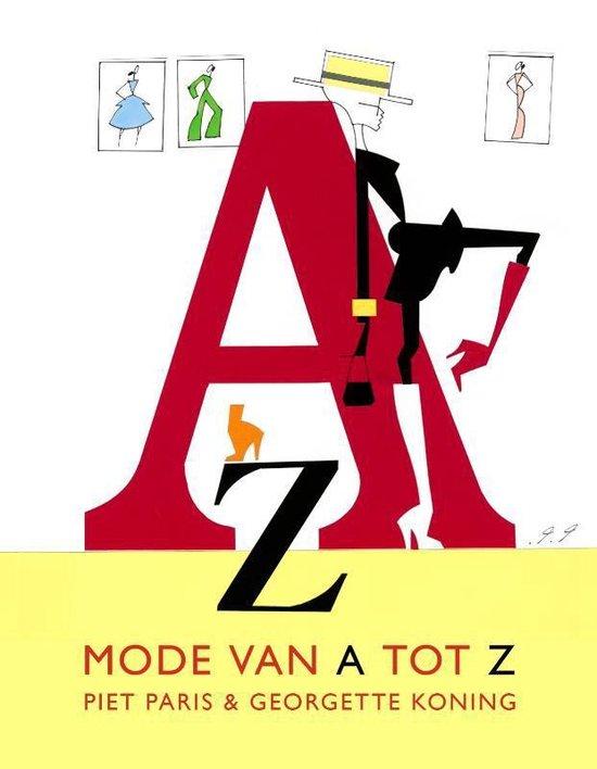 Cover van het boek 'Mode van A tot ZMode van A tot Z'