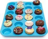 Kitchen Princess - Siliconen Muffin Bakvorm - Cupcakes - 24 stuks