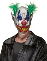 """Horror clown Halloween masker volwassenen - Verkleedmasker - One size"""