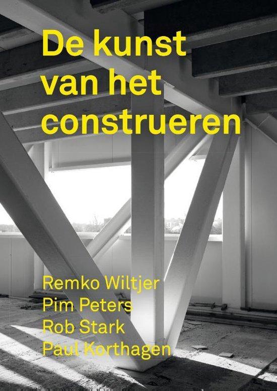 Boek cover De kunst van het construeren van Remko Wiltjer (Hardcover)