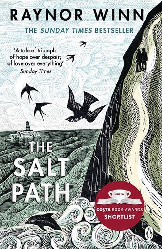 Boek cover The Salt Path van Raynor Winn (Onbekend)