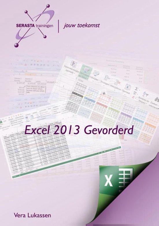 Excel 2013 gevorderd - Vera Lukassen | Fthsonline.com