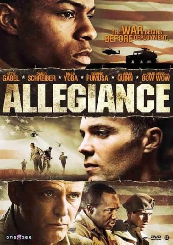 Cover van de film 'Allegiance'