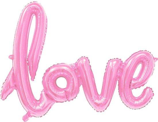 Folieballon Roze
