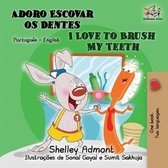 I Love to Brush My Teeth (Portuguese English Bilingual Book for Kids)