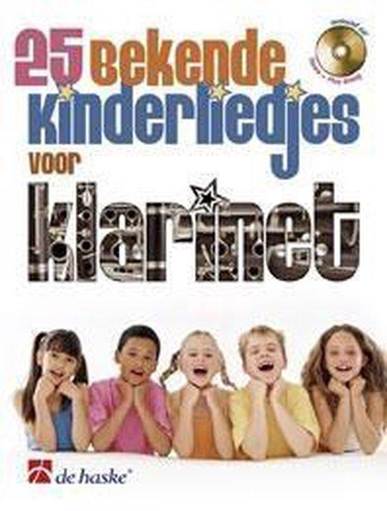 voor Klarinet 25 bekende kinderliedjes - Divers |