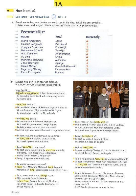 Contact! 1 tekstboek + online mp3's + woordenlijst
