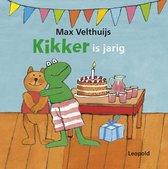 Boek cover Kikker is jarig van Max Velthuijs (Onbekend)