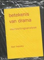 Boek cover Betekenis van drama van R. Twijnstra (Paperback)