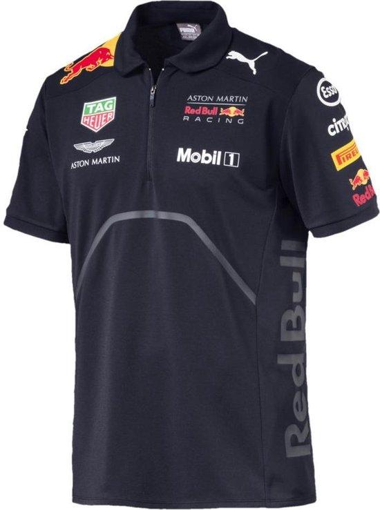 PUMA Red Bull Racing Team Polo Heren - Night Sky