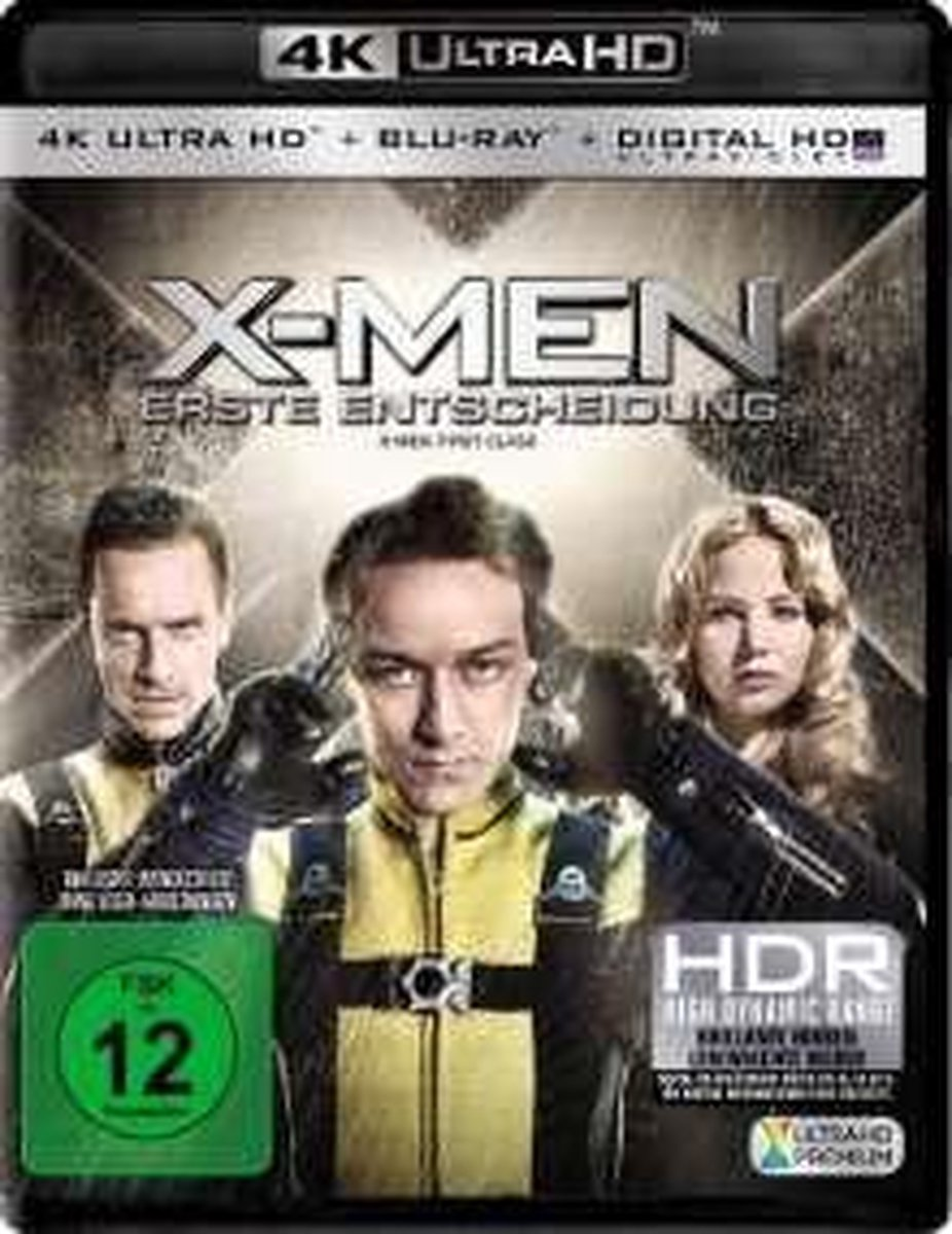 X-Men: Erste Entscheidung (Ultra HD Blu-ray & Blu-ray)-