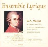 Mozart: Ave Verum; Litaniae Lauretenae; Requiem