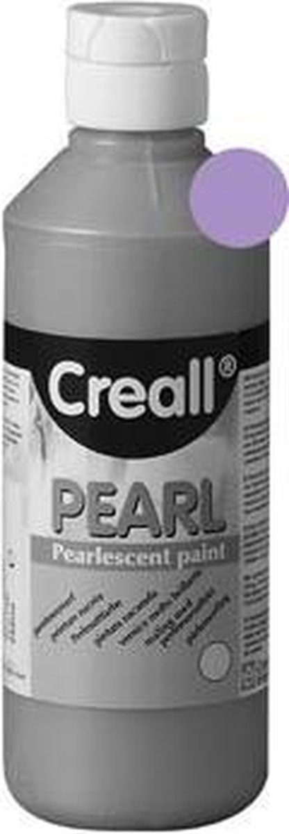 VERF CREALL PEARL PAARS 250ML