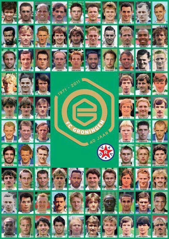 Boek cover 40 jaar FC Groningen van Martin Donker (Hardcover)