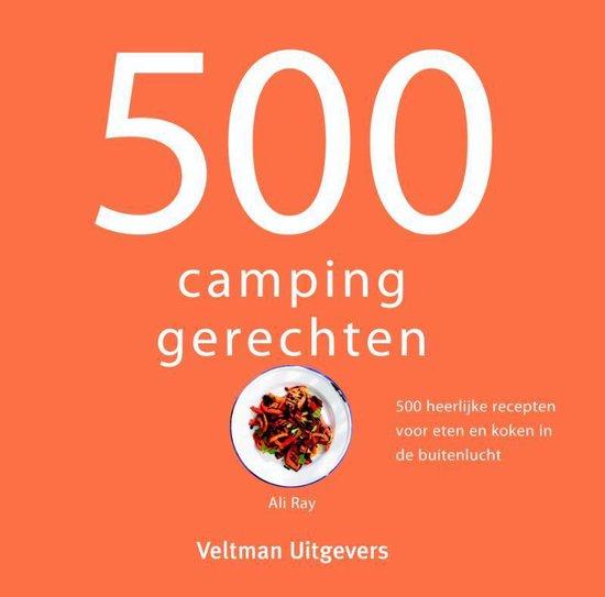 Boek cover 500 campinggerechten van Ali Ray (Hardcover)