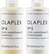 Olaplex Duo Pack No. 4 + No. 5 Shampoo en Conditioner, 2 x 250ml