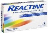 Reactine Antihistaminicum 10 mg - 7  Tabletten
