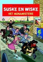 Boek cover Suske en Wiske 341  - Het Monamysterie van Luc Morjaeu (Paperback)