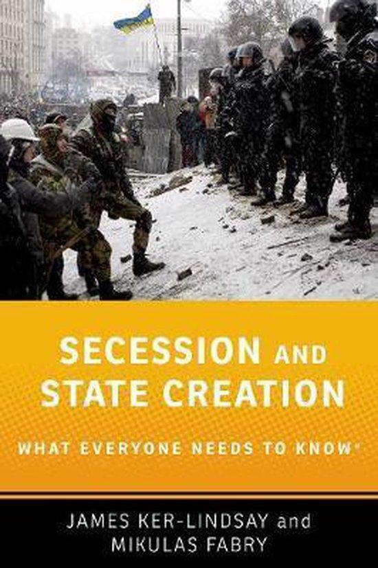Boek cover Secession and State Creation van James Ker-Lindsay (Hardcover)