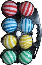 Summertime Jeu de Boules Set - incl 8 Ballen