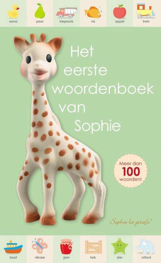 Sophie de giraf - het eerste woordenboek van Sophie - Dawn Sirett |