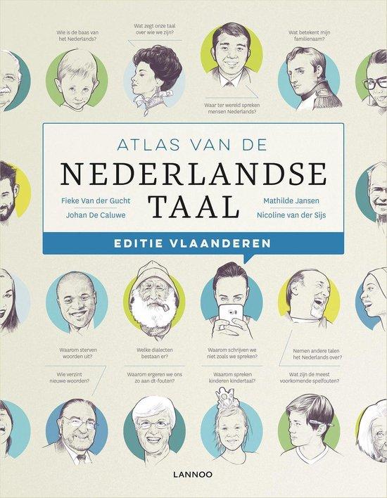 Atlas van de Nederlandse taal Vlaanderen - Fieke van der Gucht |