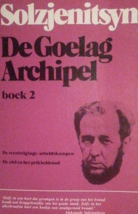 Boek cover De Goelag archipel. Boek 2: 1918-1956 van Solzjenitsyn (Paperback)