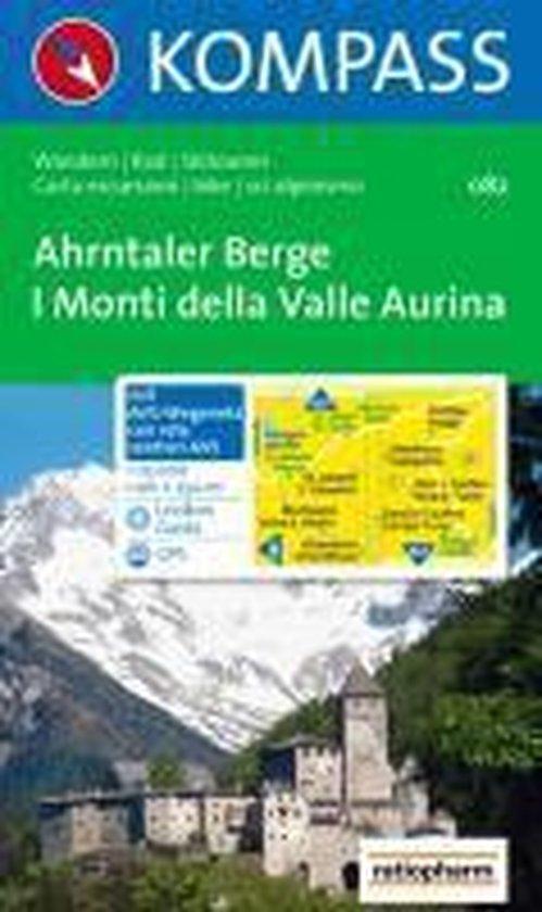 Cover van het boek '082: Ahrntaler Berge / Monti Di Valle Aurina 1:35, 000'