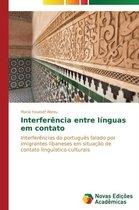 Interferencia entre linguas em contato