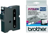 Brother TX-241 Zwart op wit TX labelprinter-tape